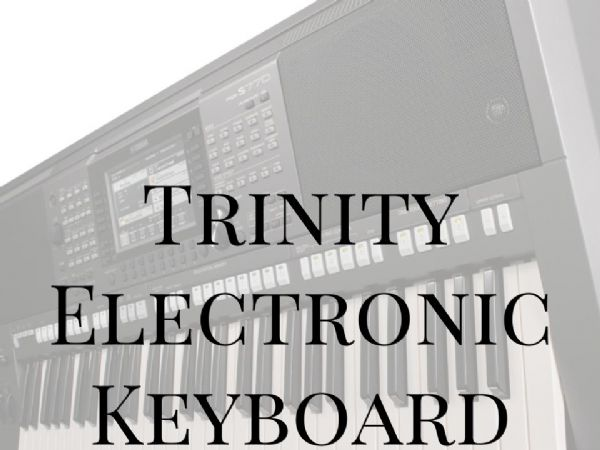 Trinity Electronic Keyboard